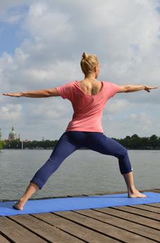 Sporthosen und Yogahosen
